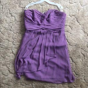 David's Bridal bridesmaid dress Style#F14847